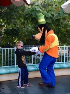 Wyatt and Goofy